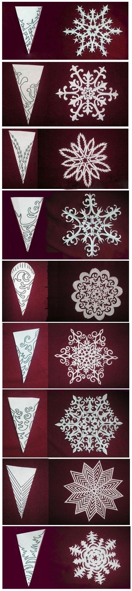 3d snowflake instructions printable