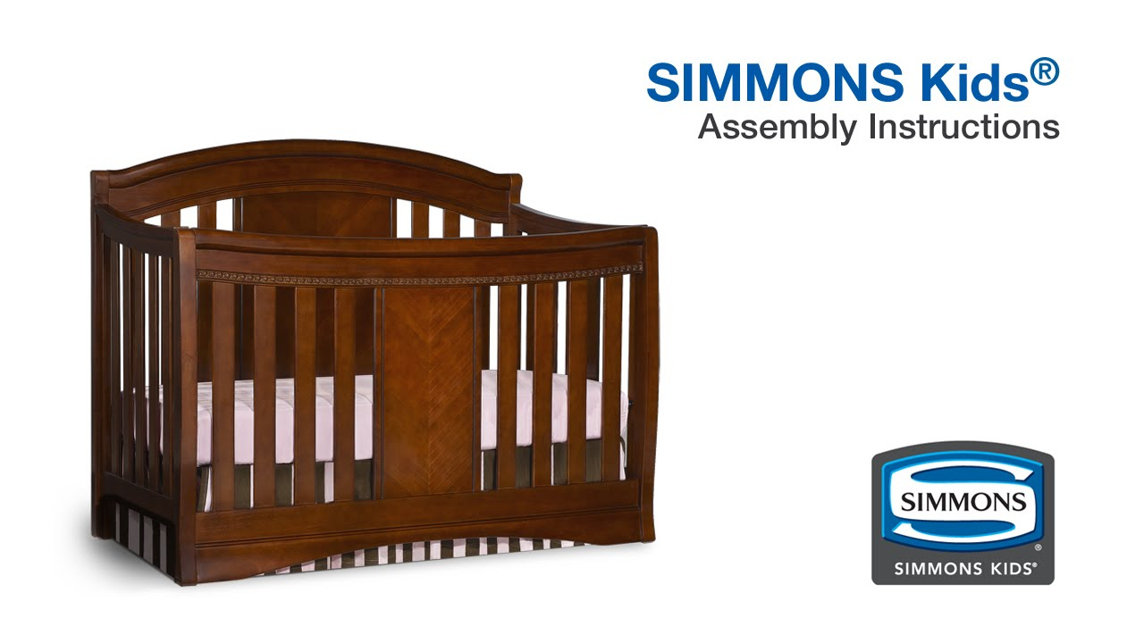 simmons little folks crib instructions