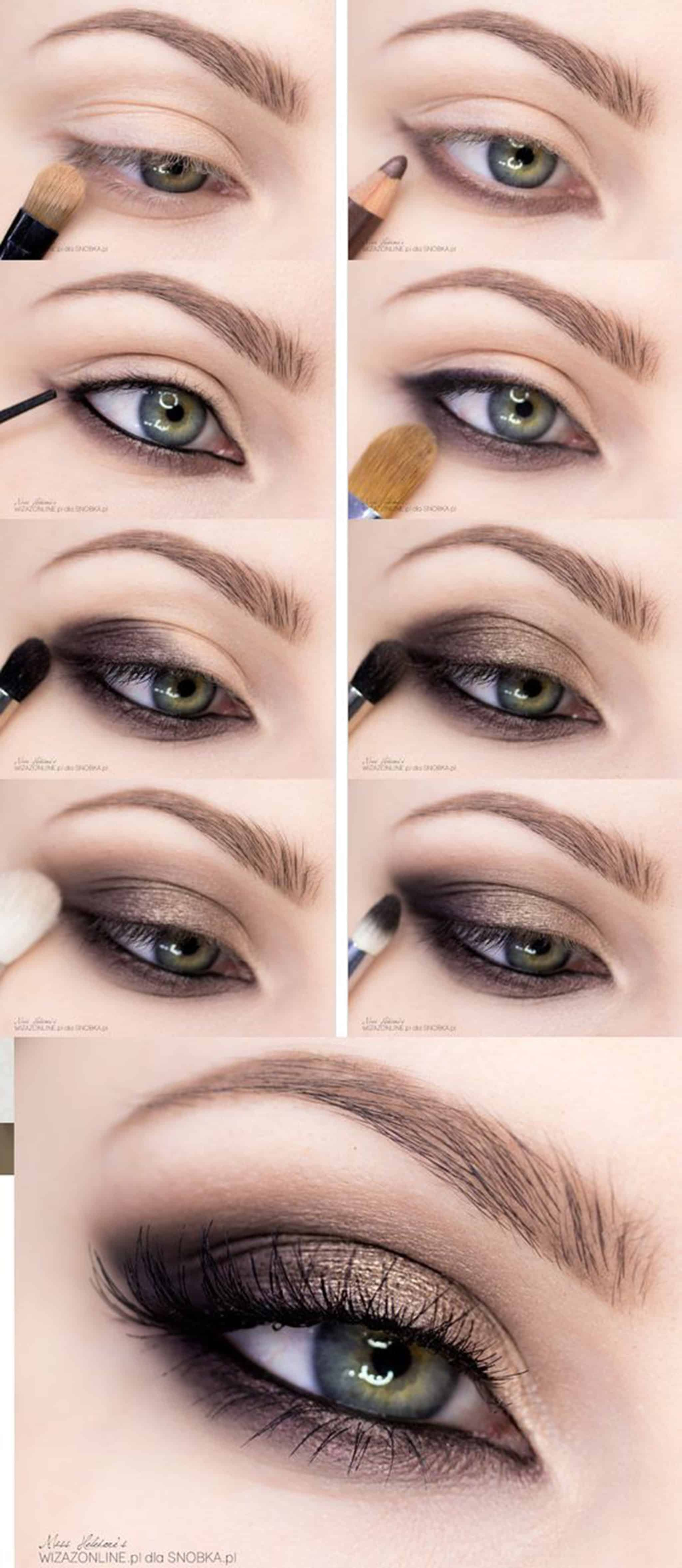 eyeshadow step by step instructions