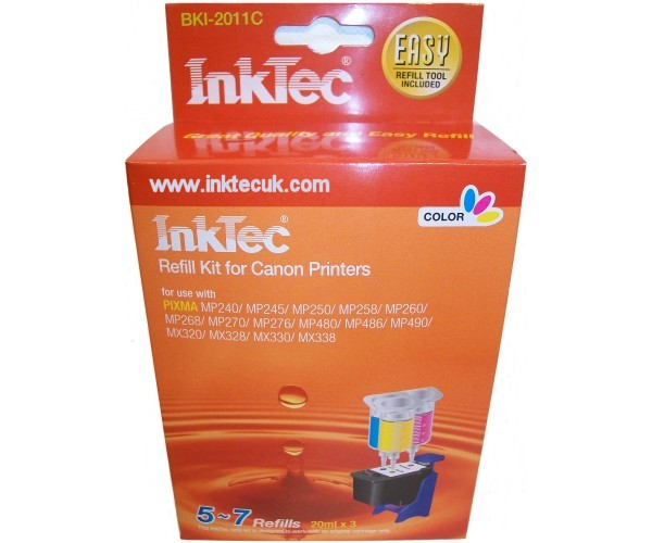 canon mp490 ink refill instructions