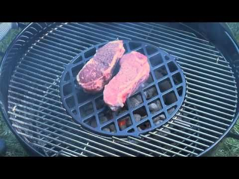 weber charcoal grill cooking instructions