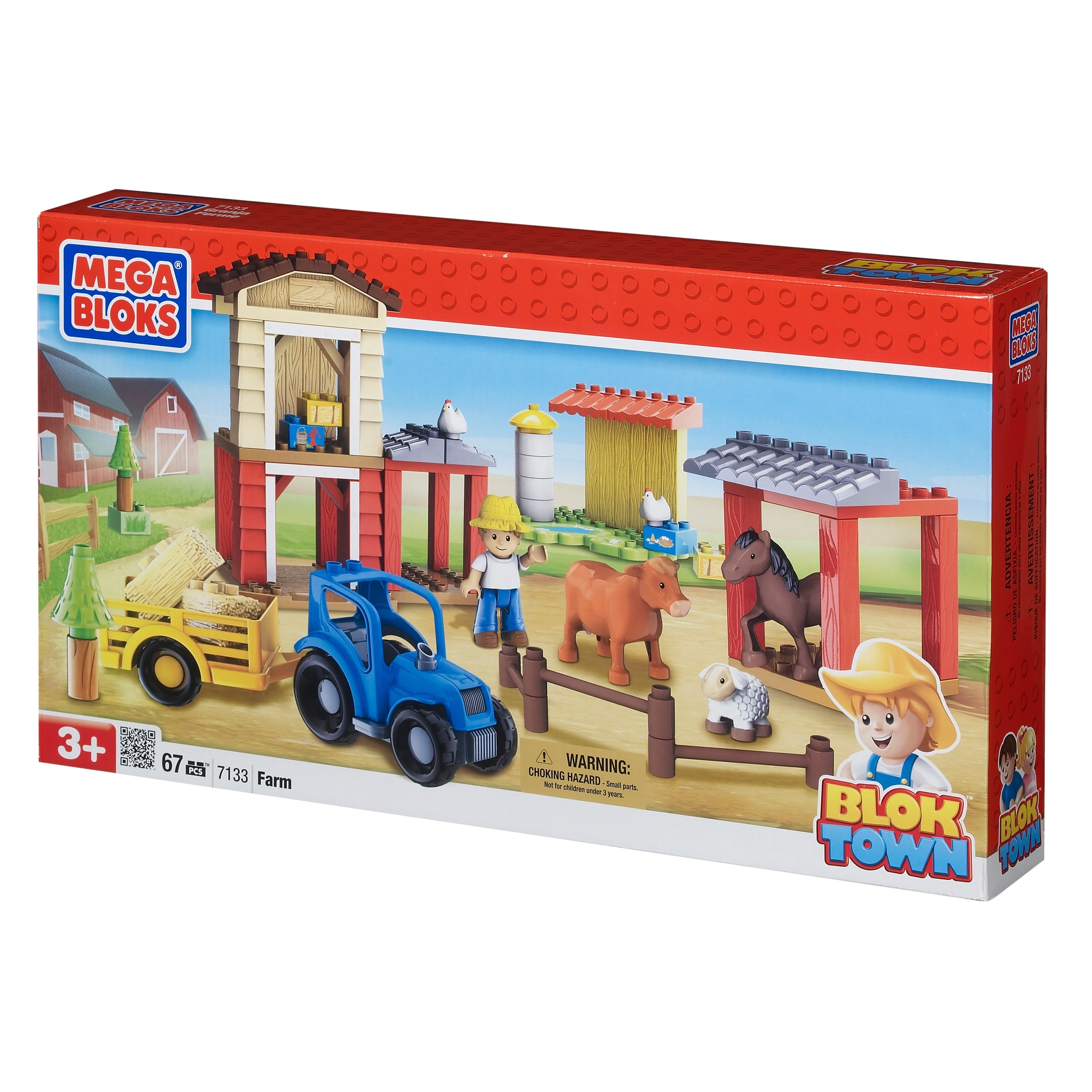 mega bloks farm set instructions