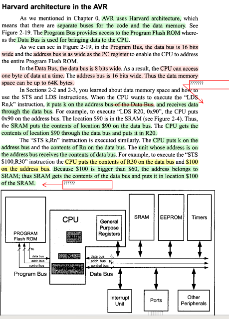 computer instructions in computer architecture
