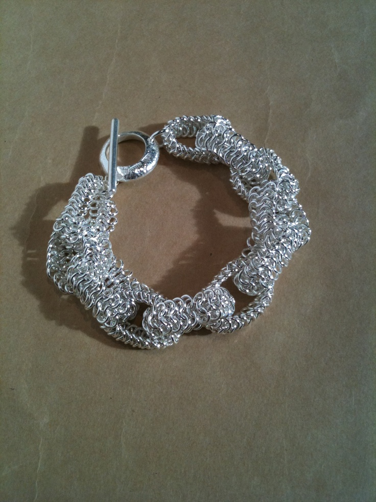 double spiral chainmaille instructions