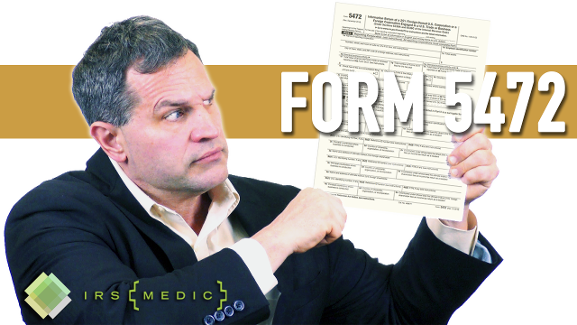 irs form 5472 instructions