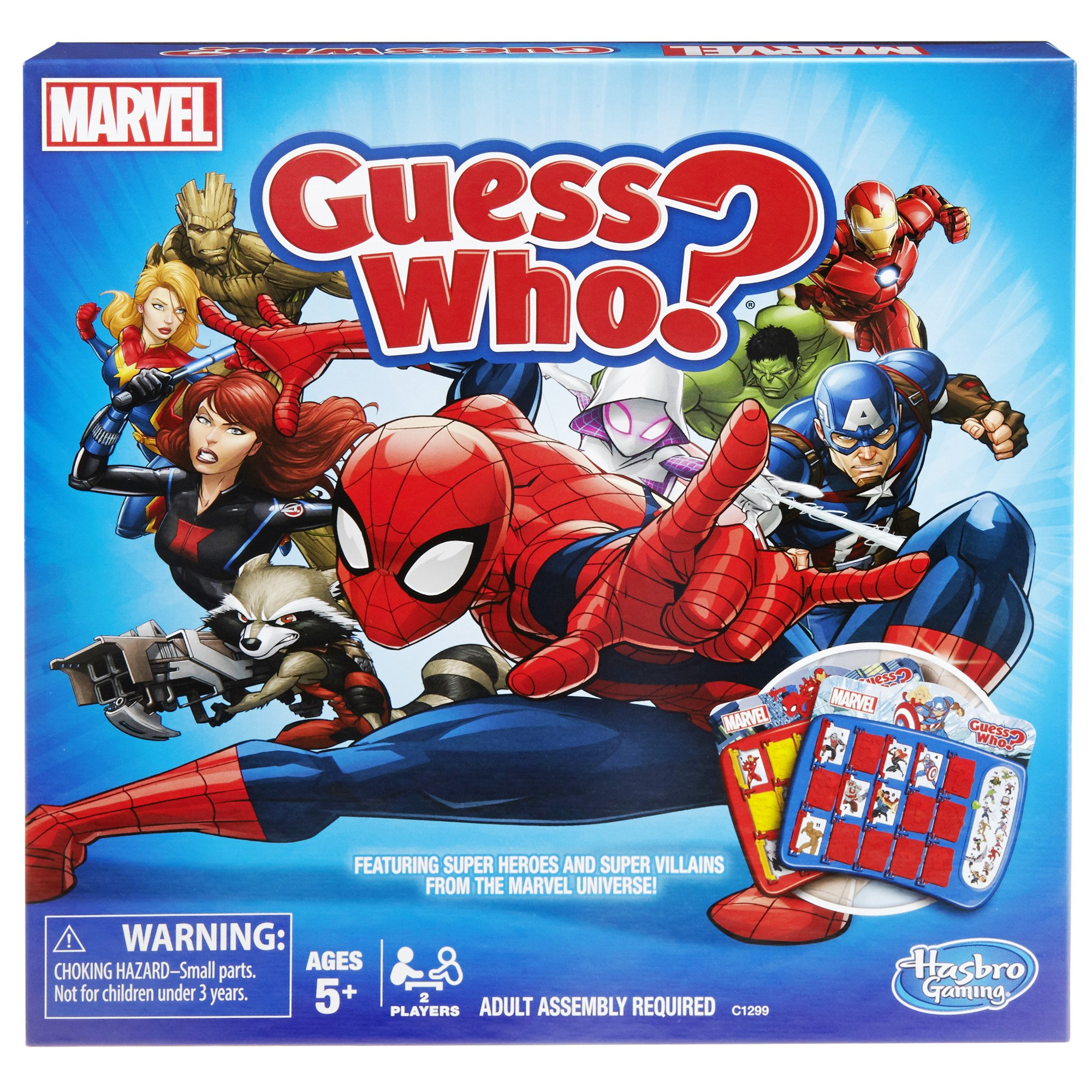 hasbro guess who game instructions