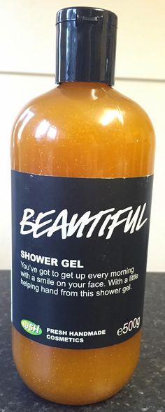 lush shower gel instructions