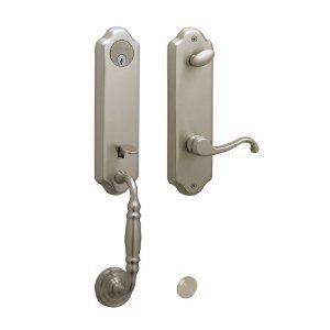 schlage door handle installation instructions
